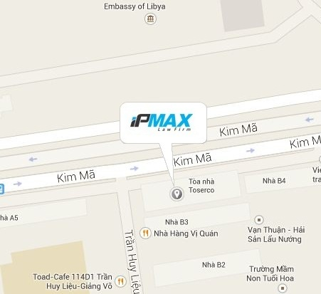 IPMax local map